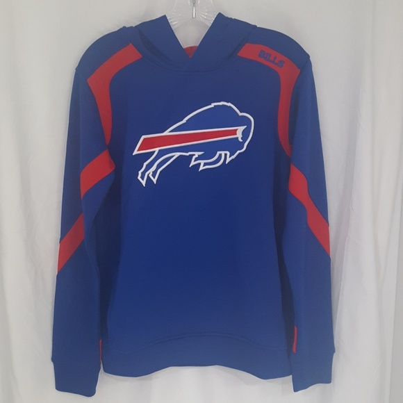 f67a2aa5ed166 Youth NFL Buffalo Bills Primary Pullover Hoodie